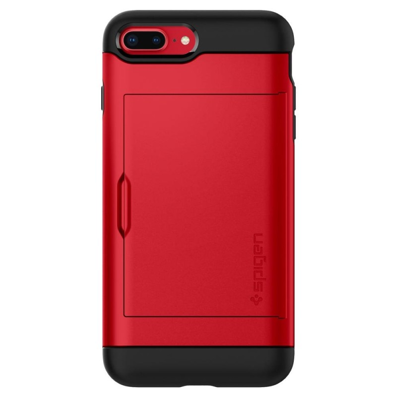 Spigen Slim Armor CS iPhone 8 Plus/7 Plus Rood - 6