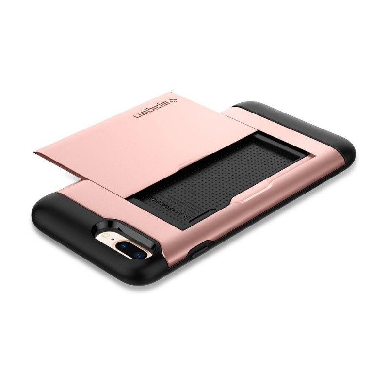 Spigen Slim Armor CS iPhone 8 Plus/7 Plus Rose Goud - 2
