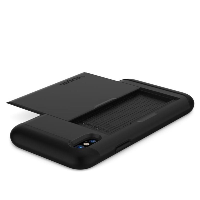 Spigen - Slim Armor CS iPhone 8 Hoesje Black 05