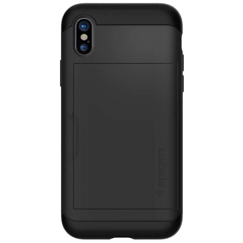 Spigen - Slim Armor CS iPhone 8 Hoesje Black 08