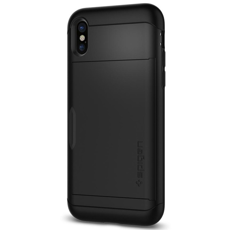 Spigen - Slim Armor CS iPhone 8 Hoesje Black 09