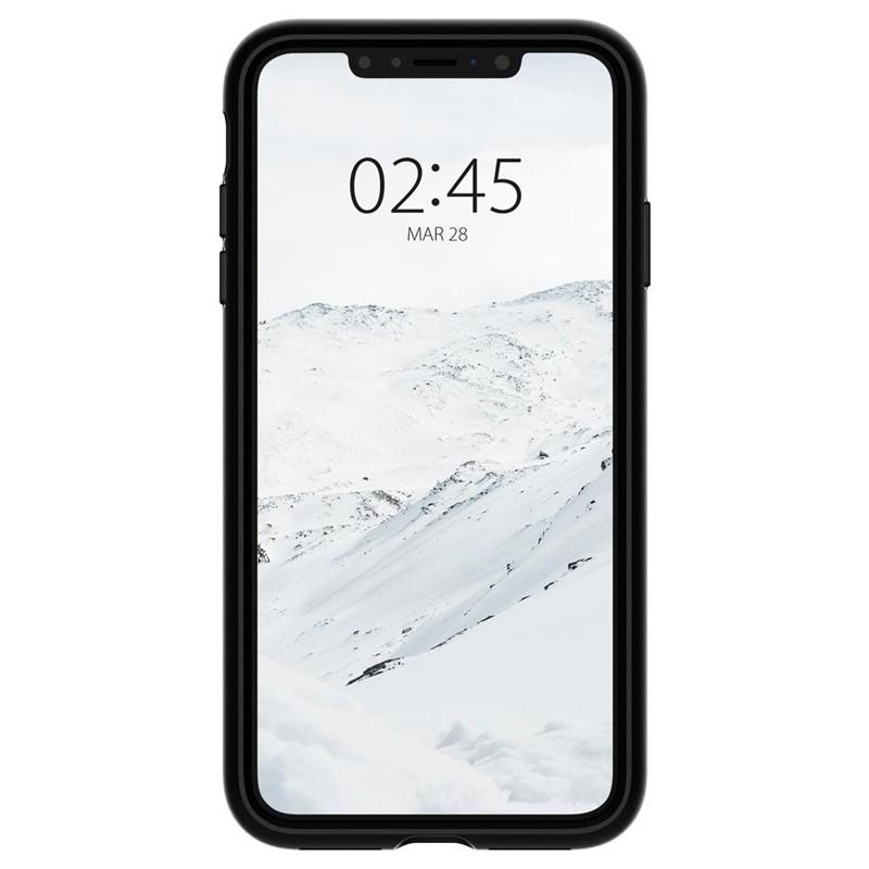 Spigen Slim Armor CS iPhone XS Max Hoesje Zwart 06
