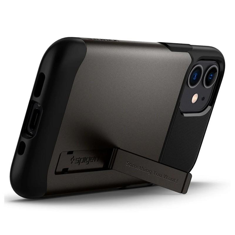 Spigen Slim Armor Case iPhone 12 Mini Gunmetal - 6