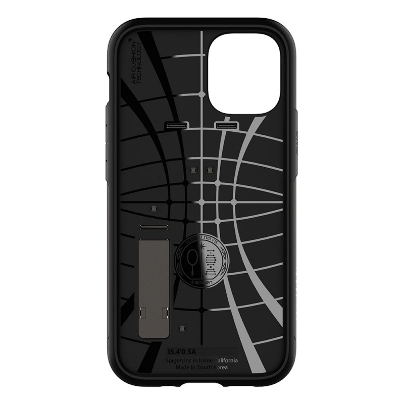Spigen Slim Armor Case iPhone 12 Mini Gunmetal - 4