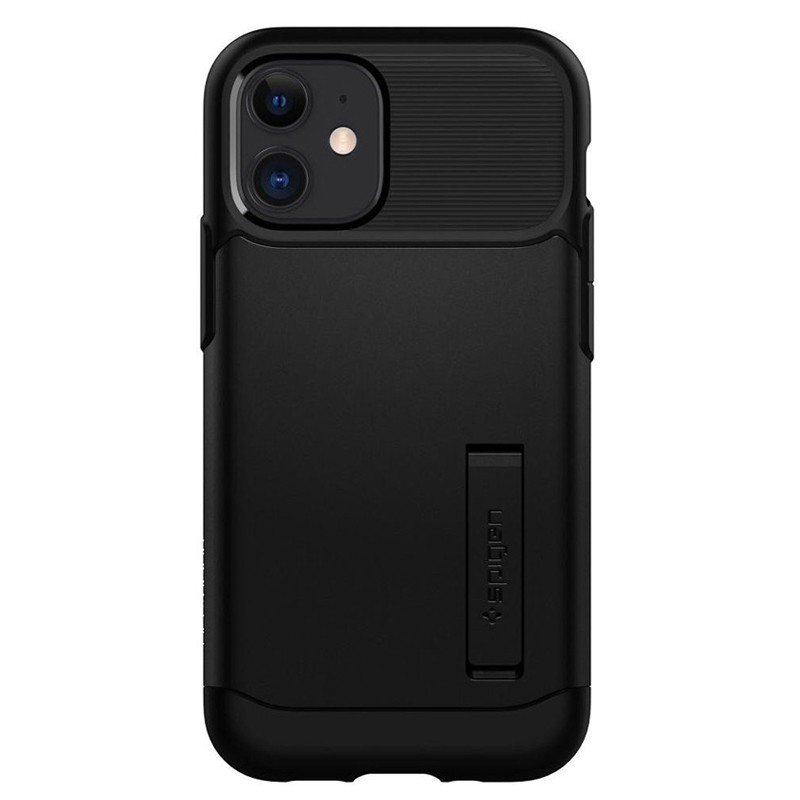 Spigen - Slim Armor iPhone 12 Mini 5.4 inch zwart 02