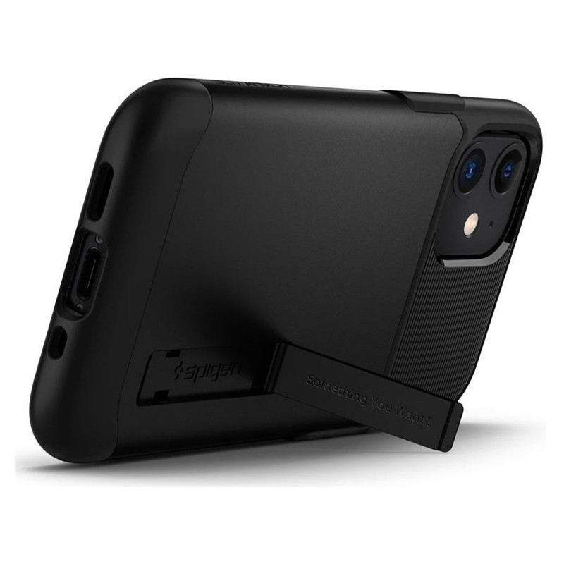 Spigen - Slim Armor iPhone 12 Mini 5.4 inch zwart 04