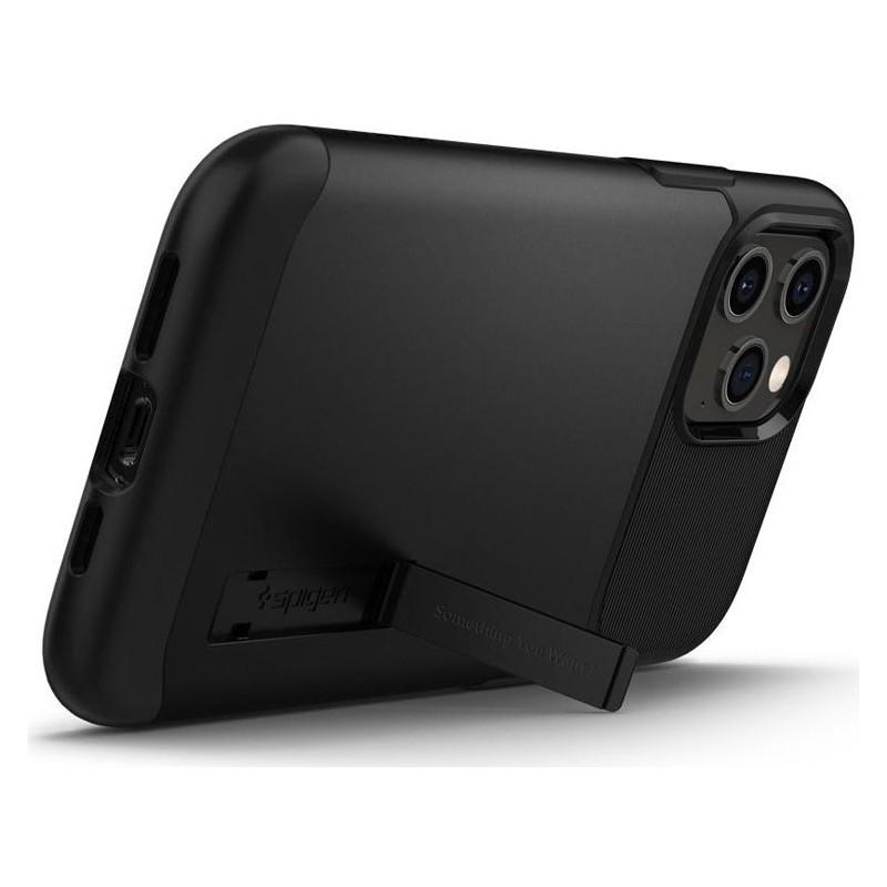 Spigen - Slim Armor iPhone 12 Pro Max 6.7 inch zwart 05