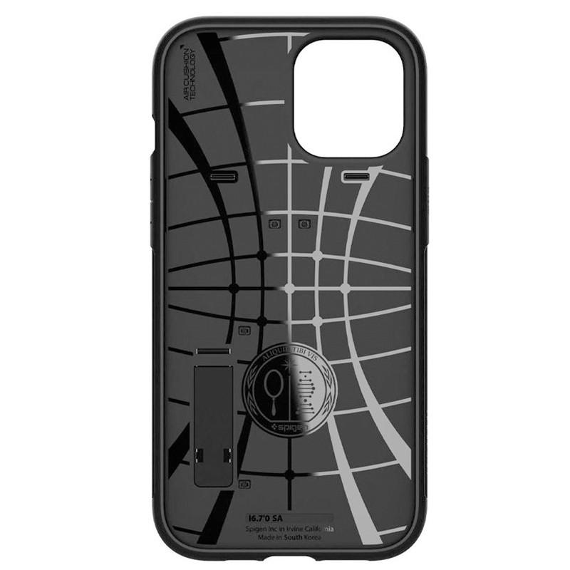Spigen - Slim Armor iPhone 12 Pro Max 6.7 inch zwart 02