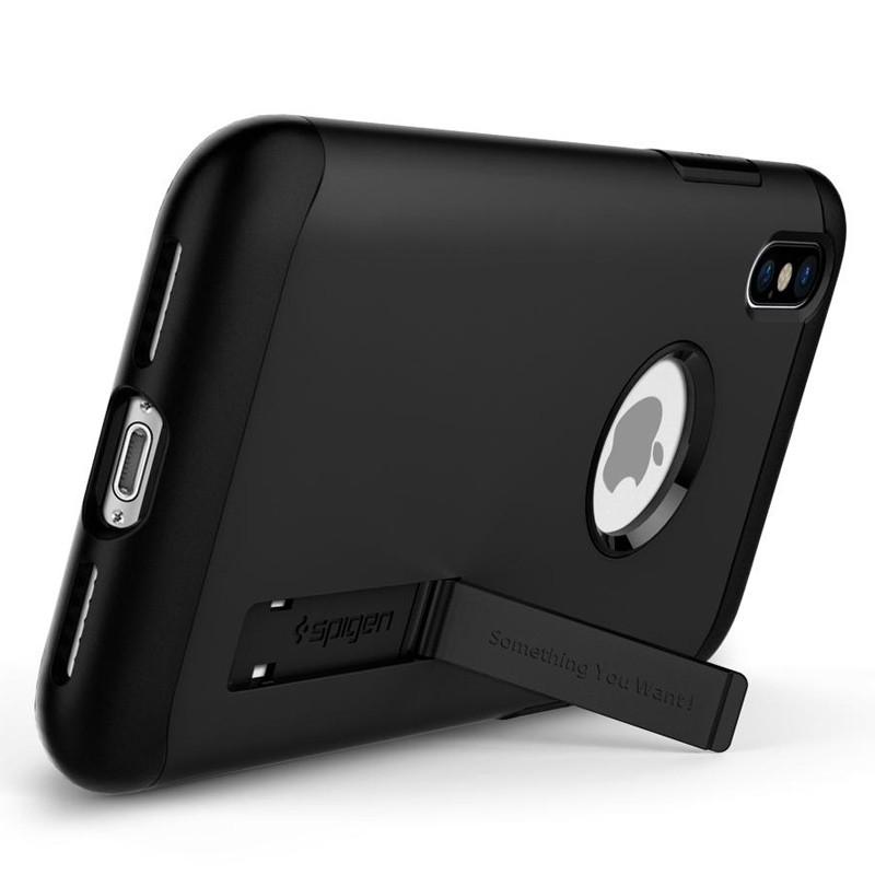 Spigen - Slim Armor iPhone 8 Hoesje Black 02