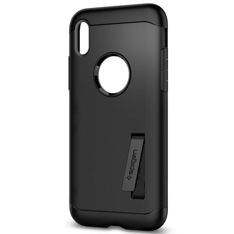 Spigen - Slim Armor iPhone 8 Hoesje Black 04