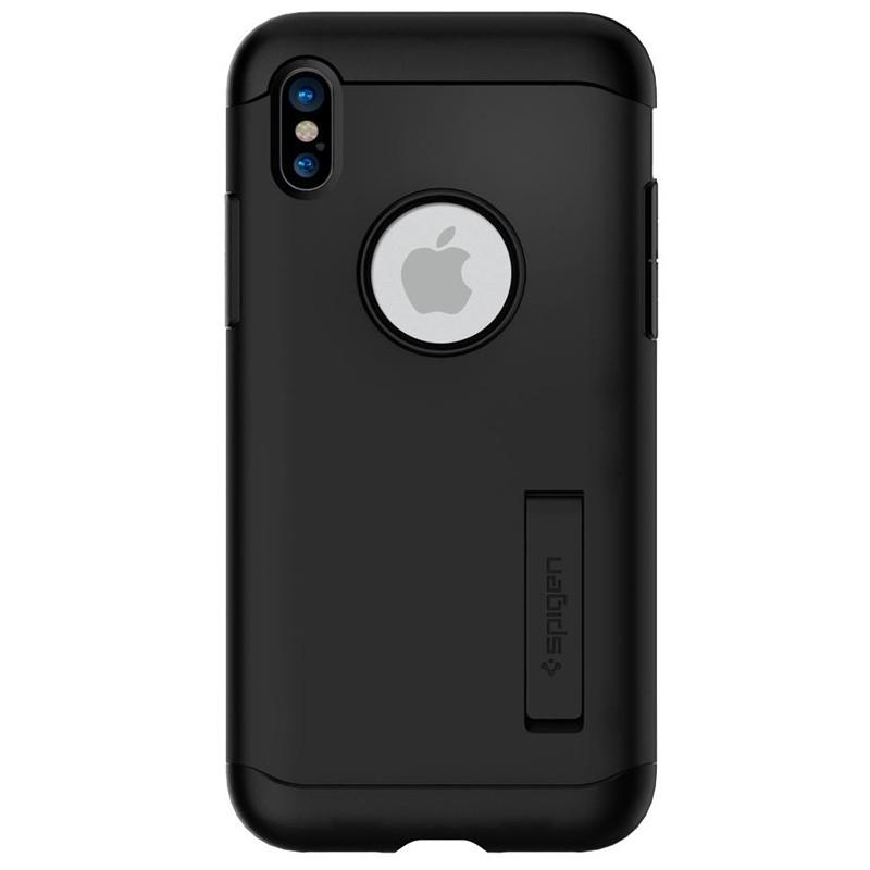 Spigen - Slim Armor iPhone 8 Hoesje Black 05