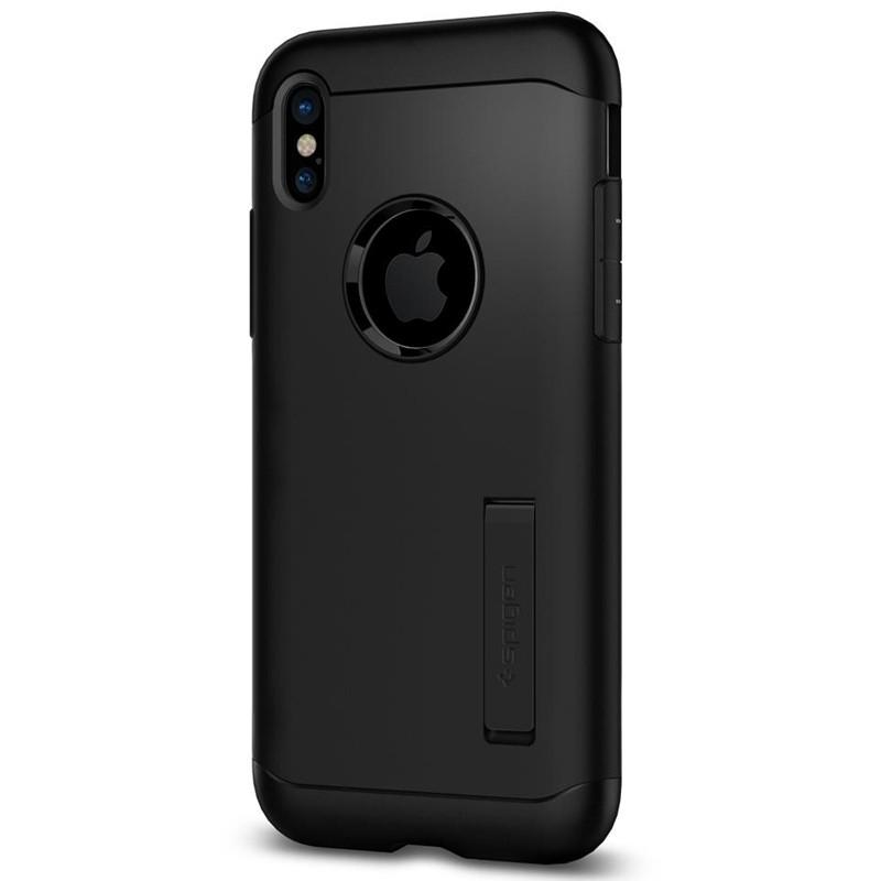 Spigen - Slim Armor iPhone 8 Hoesje Black 06