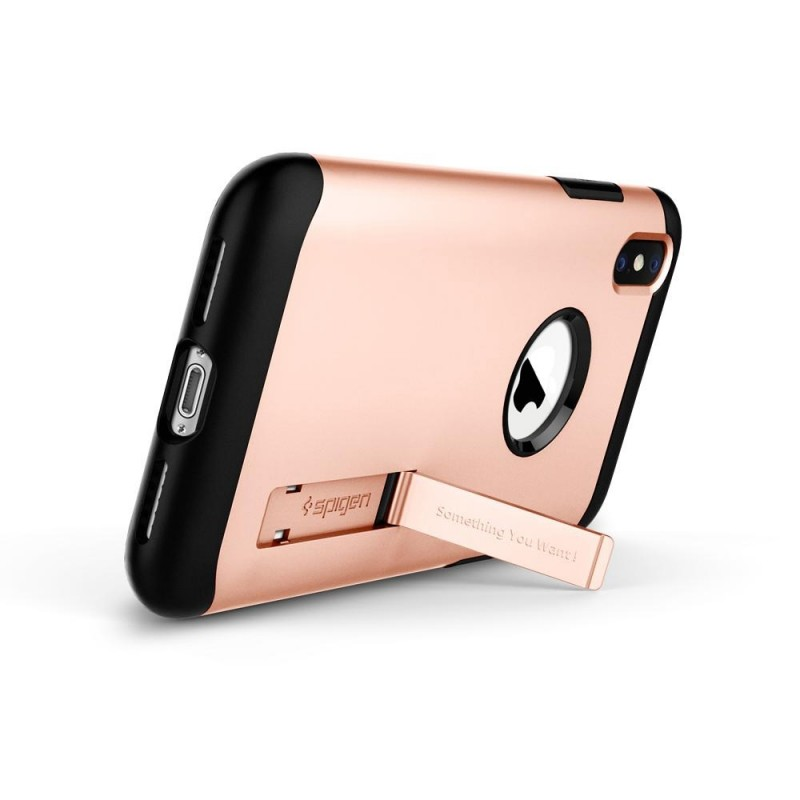 Spigen Slim Armor iPhone X/Xs Blush Gold - 2