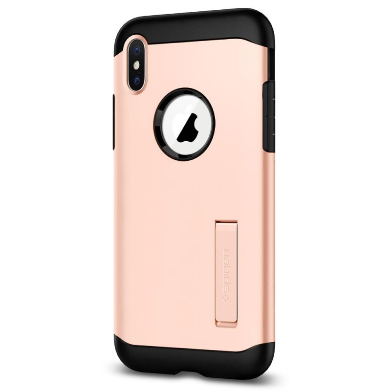 Spigen Slim Armor iPhone X/Xs Blush Gold - 5