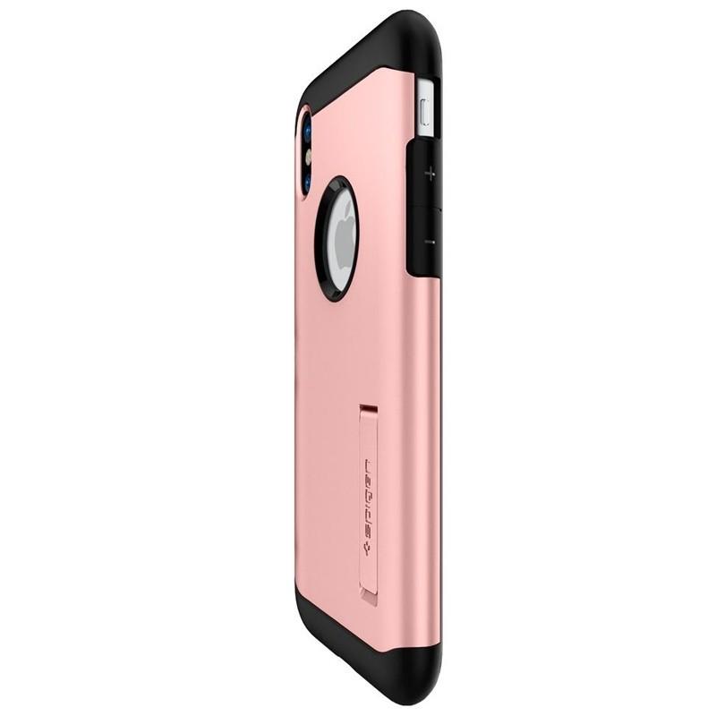 Spigen - Slim Armor iPhone 8 Hoesje Rose Gold 07
