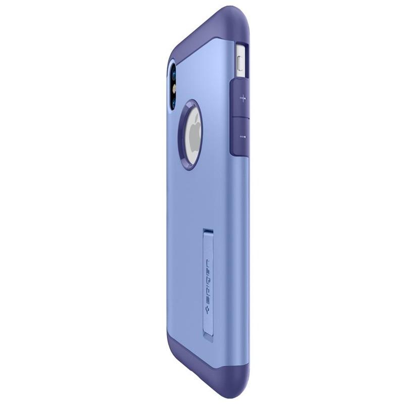 Spigen - Slim Armor iPhone 8 Hoesje Violet 07