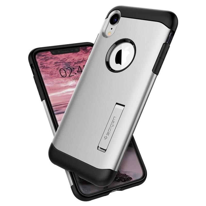 Spigen Slim Armor iPhone XR Hoesje Silver 02