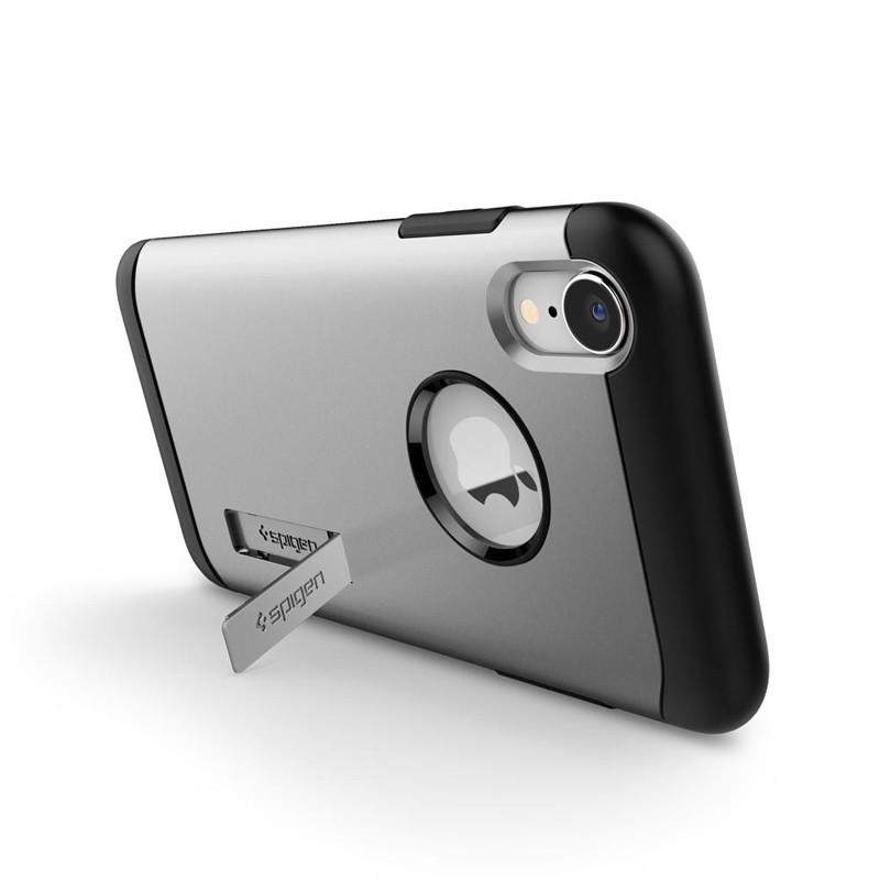 Spigen Slim Armor iPhone XR Hoesje Silver 05