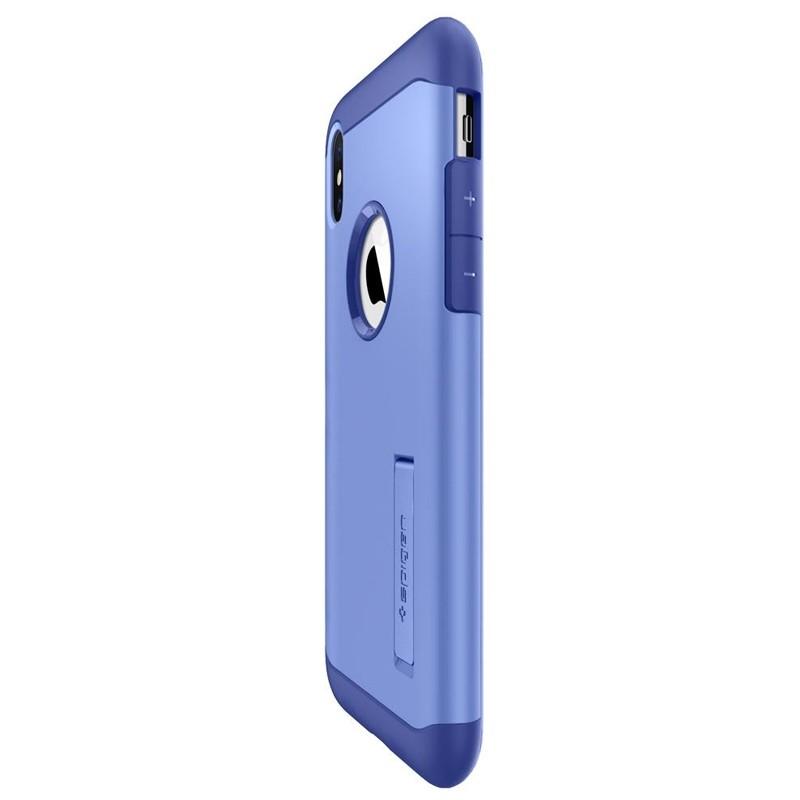 Spigen Slim Armor iPhone XS Max Hoesje Paars 04