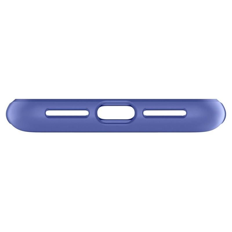 Spigen Slim Armor iPhone XS Max Hoesje Paars 06