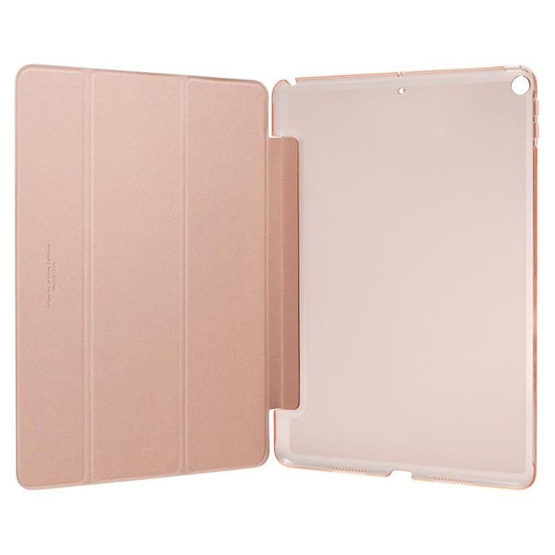 Spigen Smart Fold Folio iPad Air 3 10.5 inch Roze - 2