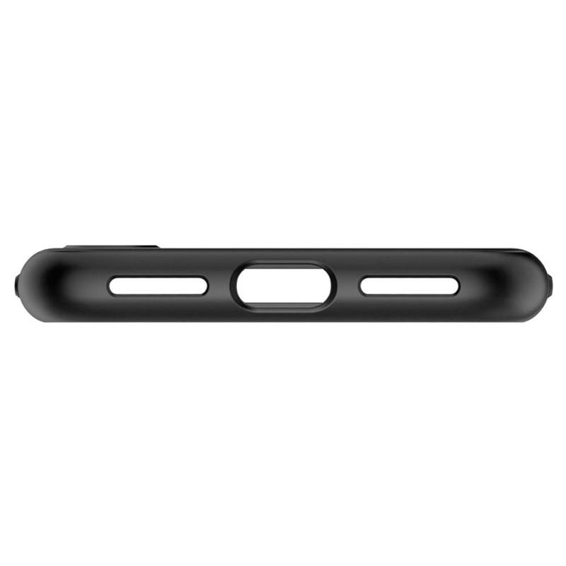 Spigen Thin Fit 360 Case iPhone XS Max + Glass Protector Zwart 07