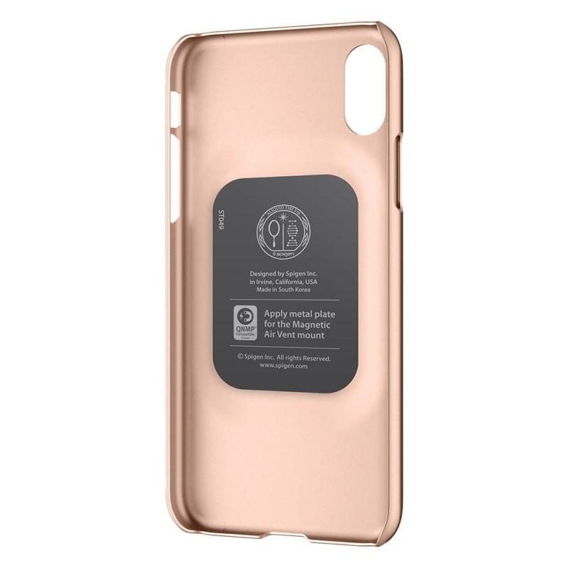 Spigen Thin Fit Case iPhone X/Xs Hoesje Blush Gold - 4