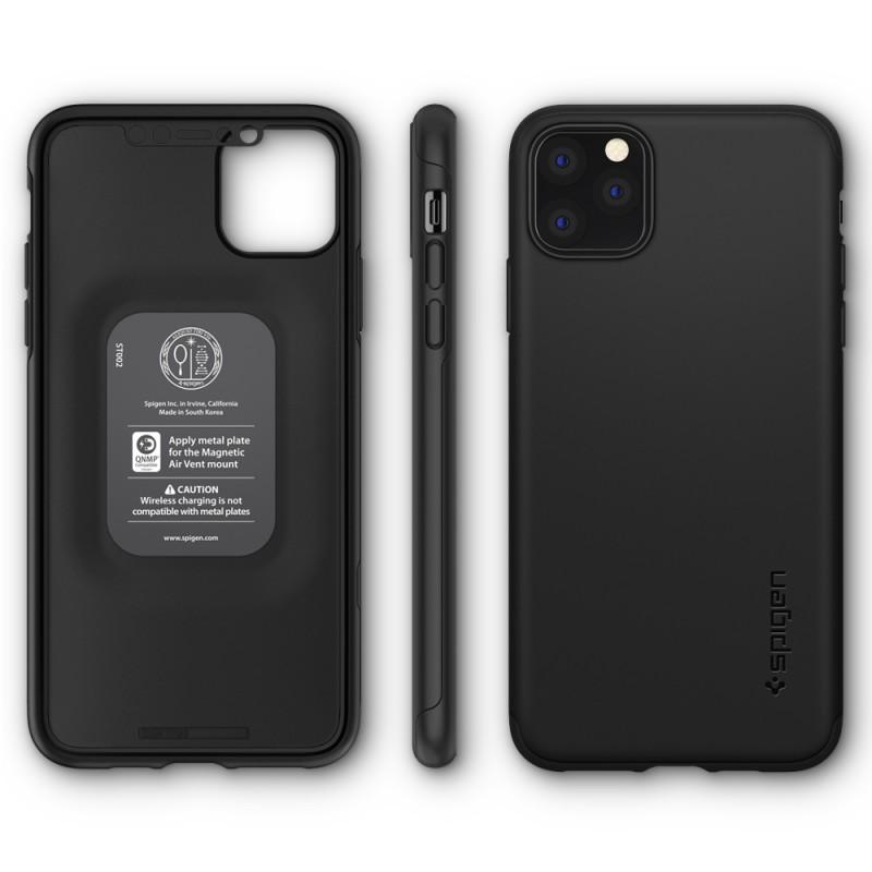 Spigen Thin Fit iPhone 11 Pro Zwart - 7