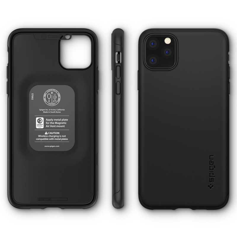 Spigen Thin Fit iPhone 11 Pro Zwart - 7