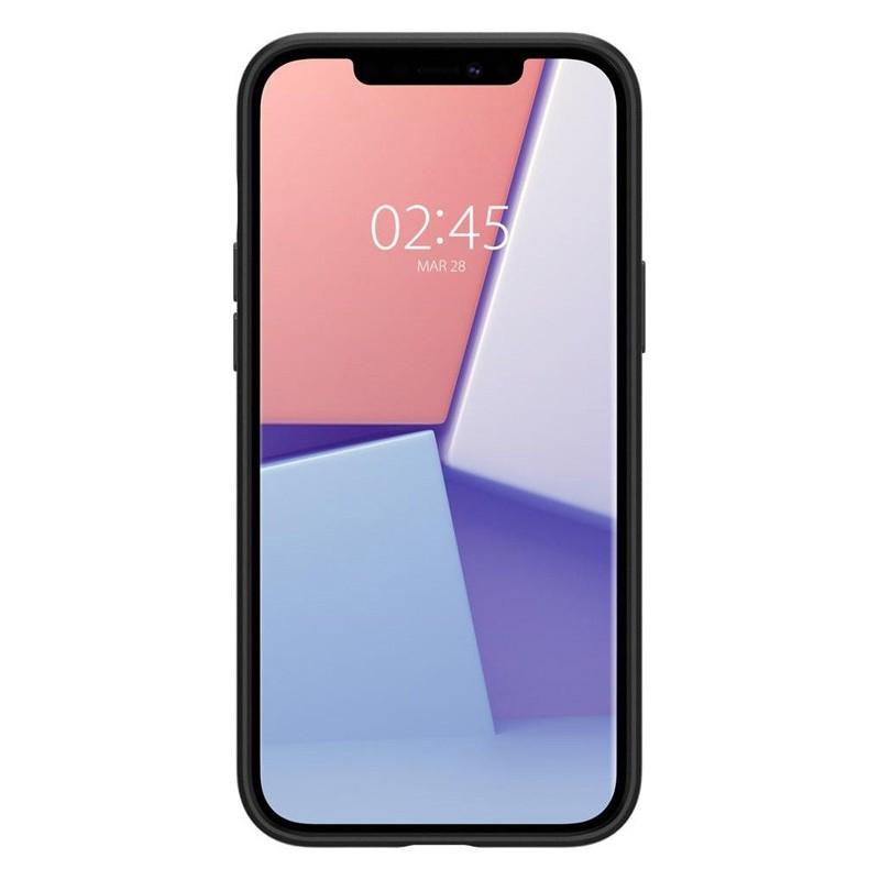 Spigen - Thin Fit Case iPhone 12 / iPhone 12 Pro 6.1 inch zwart 05