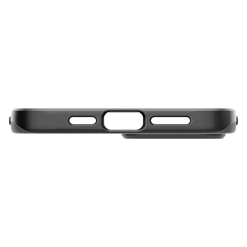 Spigen - Thin Fit Case iPhone 12 / iPhone 12 Pro 6.1 inch zwart 09