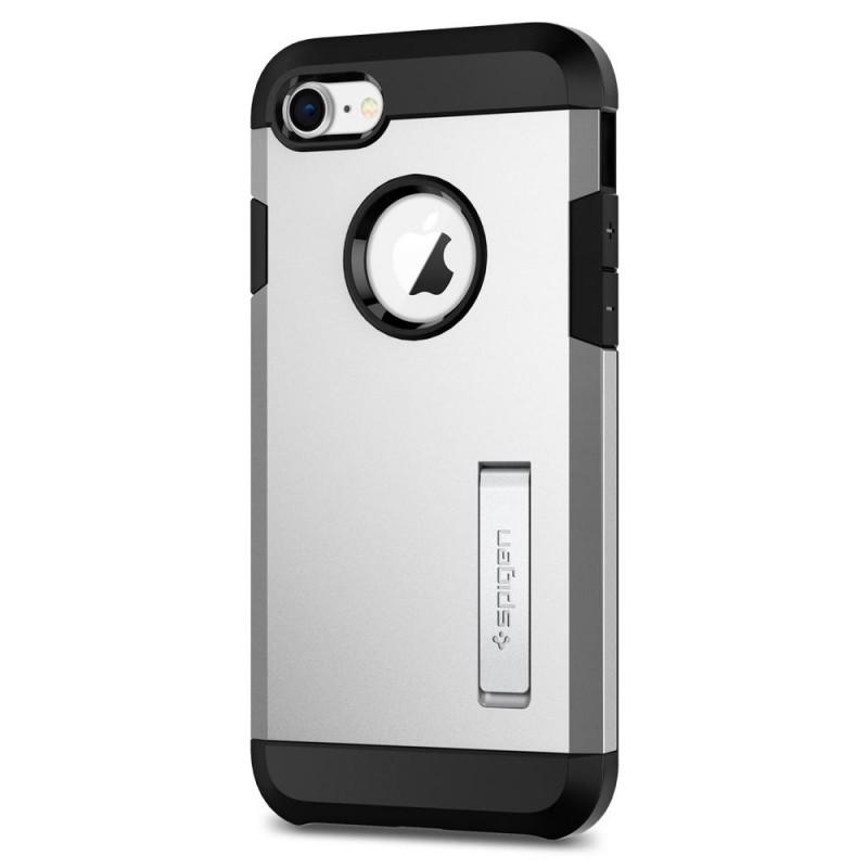 Spigen Tough Armor 2 iPhone 8/7 Hoesje Zilver - 3
