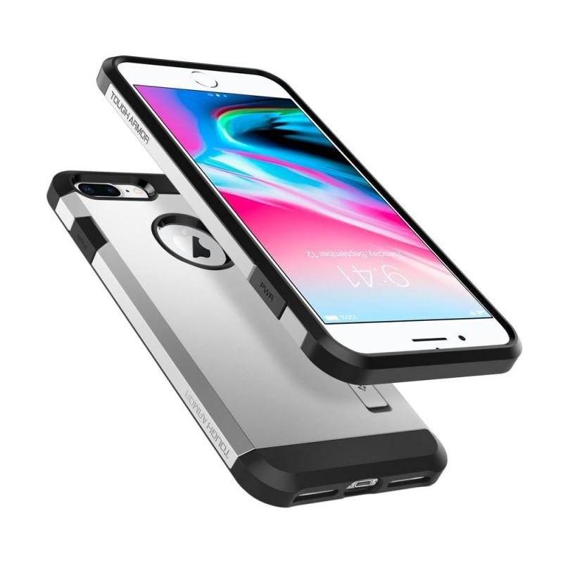 Spigen Tough Armor 2 iPhone 8 Plus/7 Plus Zilver - 2