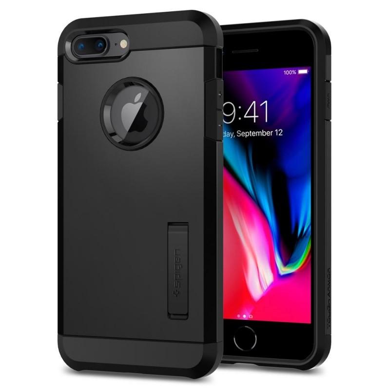 Spigen Tough Armor 2 iPhone 8 Plus/7 Plus Zwart - 1