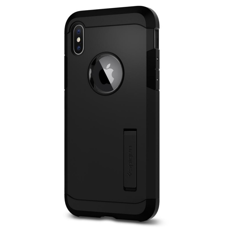 Spigen Tough Armor Case iPhone X/Xs Hoesje Mat Zwart - 5