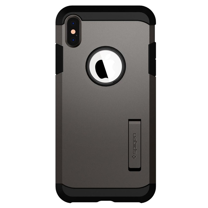 Spigen Tough Armor Case iPhone XS Max Gunmetal 01