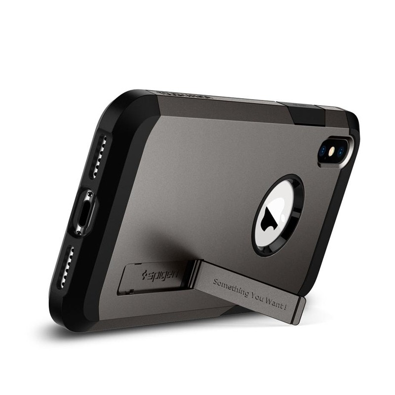 Spigen Tough Armor Case iPhone XS Max Gunmetal 02