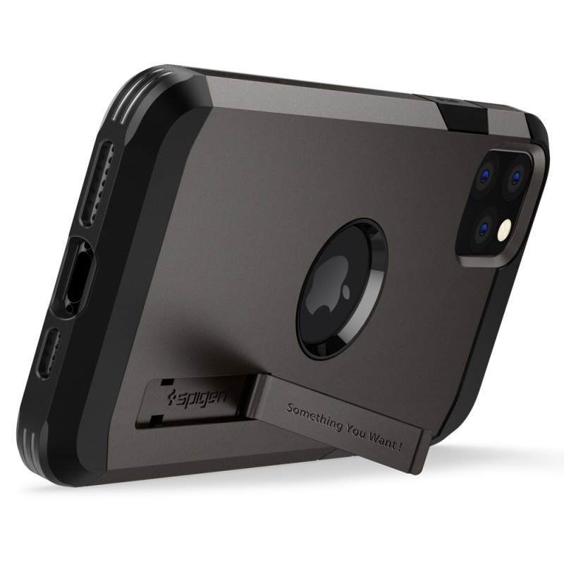 Spigen Tough Armor iPhone 11 Pro Max Hoesje Zwart - 3