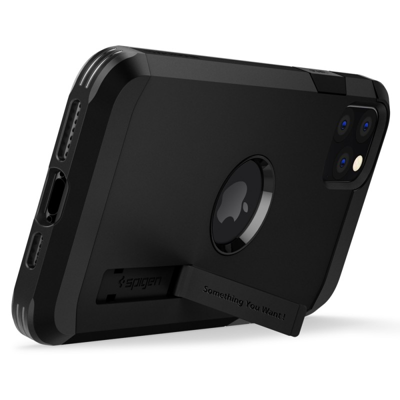 Spigen Tough Armor Case iPhone 11 Pro Zwart - 4