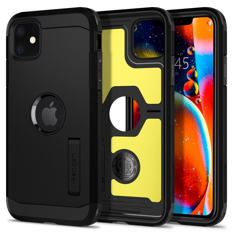 Spigen Tough Armor Case iPhone 11 Zwart - 9