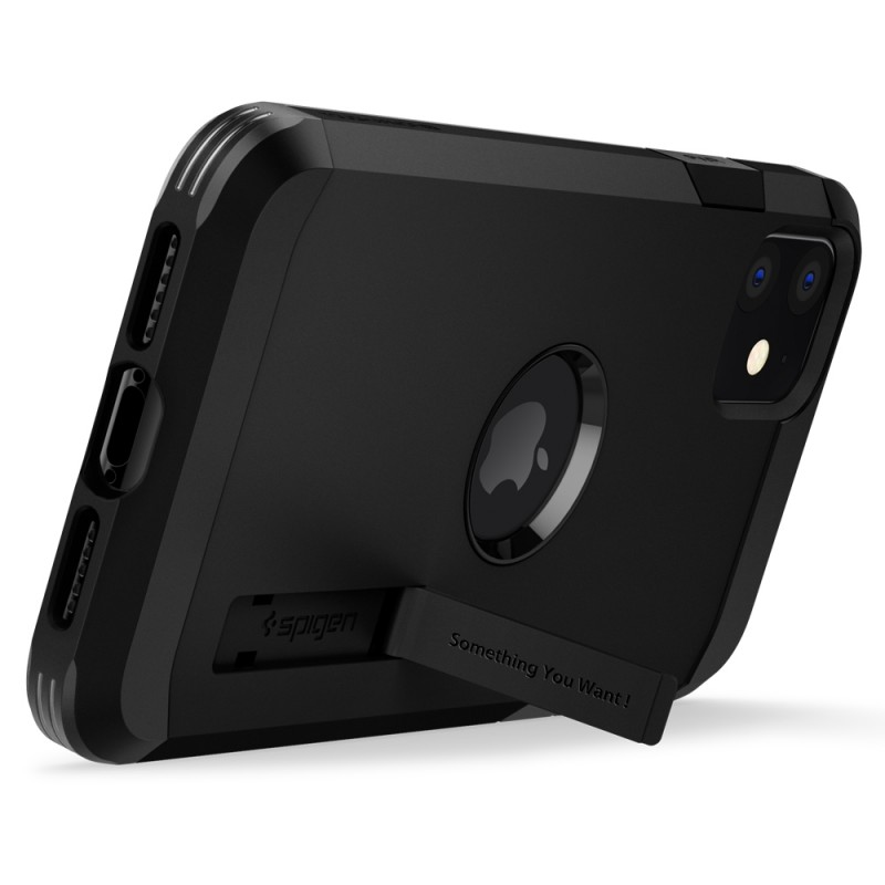 Spigen Tough Armor Case iPhone 11 Zwart - 4