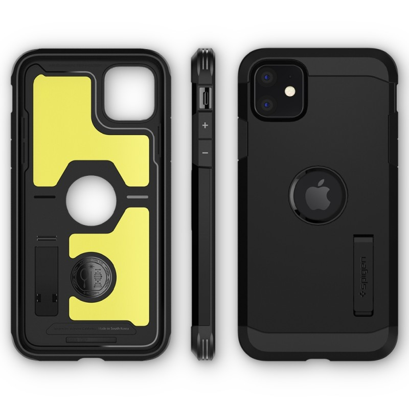 Spigen Tough Armor Case iPhone 11 Zwart - 7