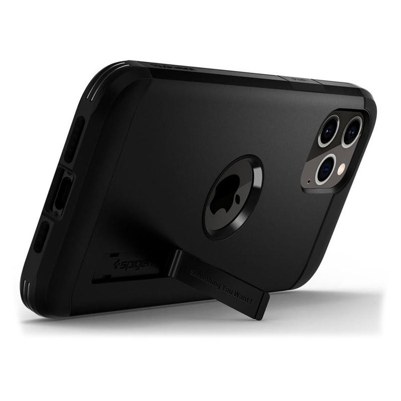 Spigen - Tough Armor iPhone 12 / iPhone 12 Pro 6.1 inch zwart 01