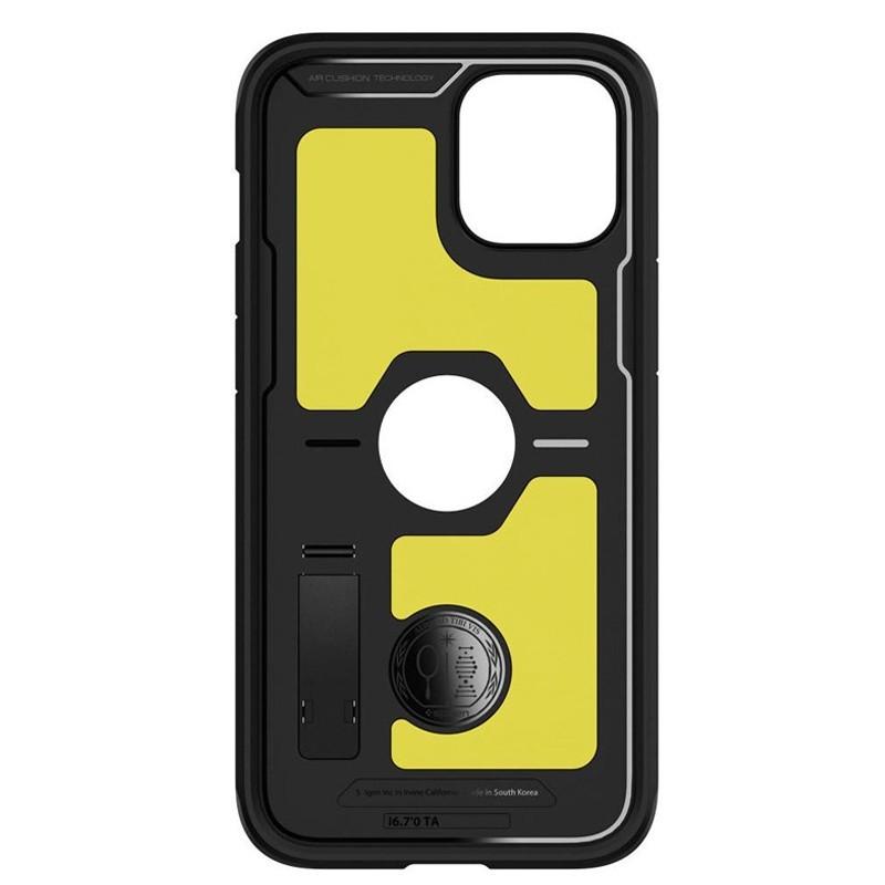 Spigen - Tough Armor iPhone 12 / iPhone 12 Pro 6.1 inch zwart 02
