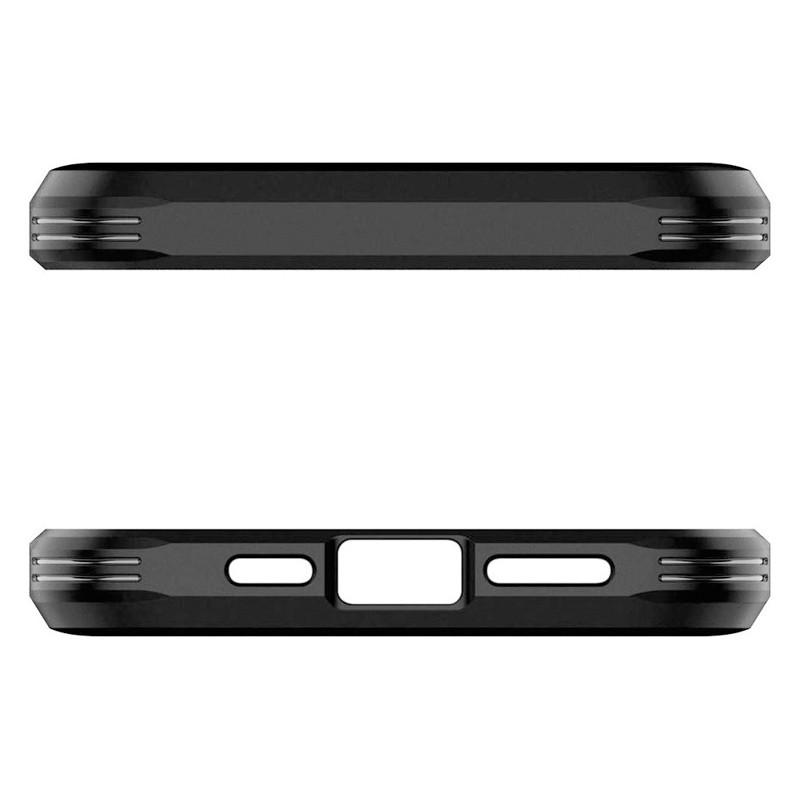Spigen - Tough Armor iPhone 12 / iPhone 12 Pro 6.1 inch zwart 09