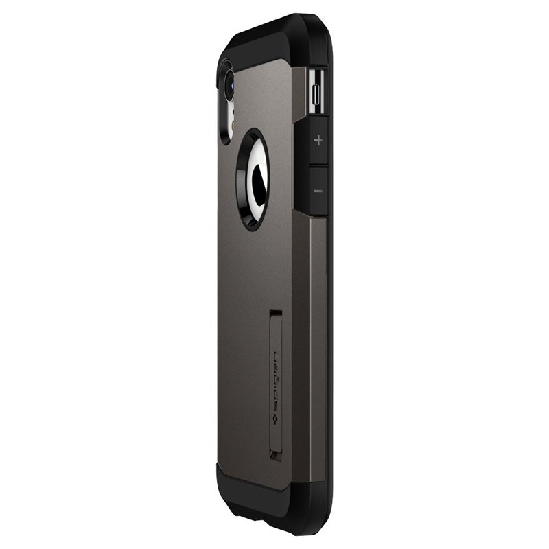 Spigen Tough Armor Case iPhone XR Gunmetal 04