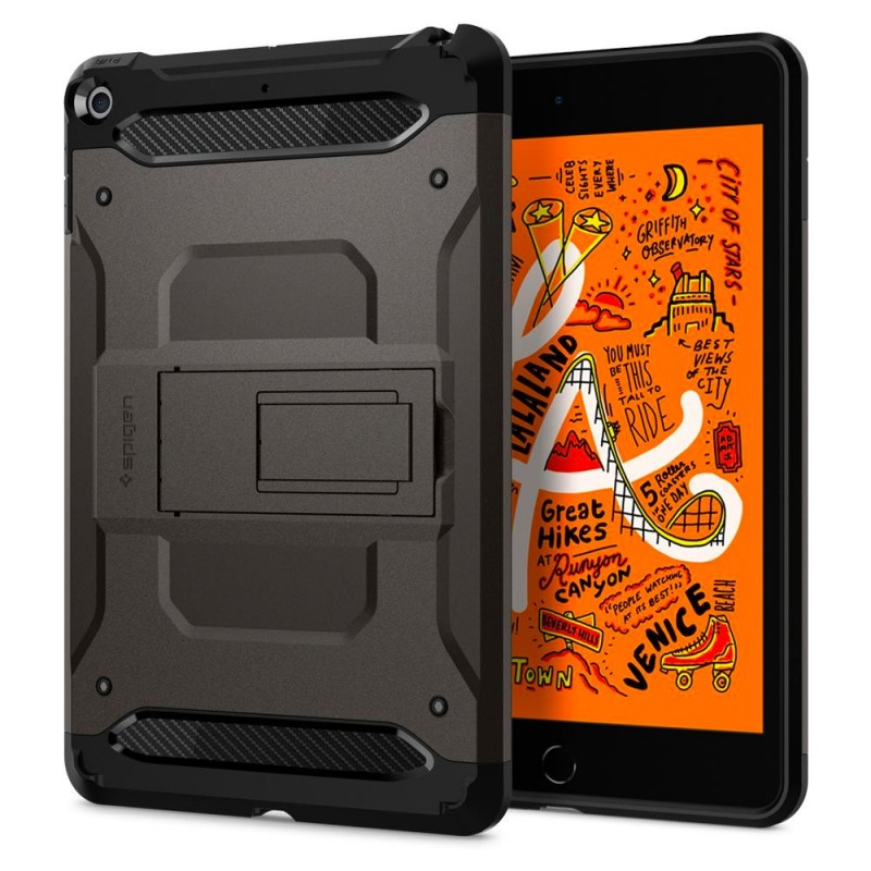 Spigen Tough Armor TECH iPad Mini 5 Gunmetal - 1