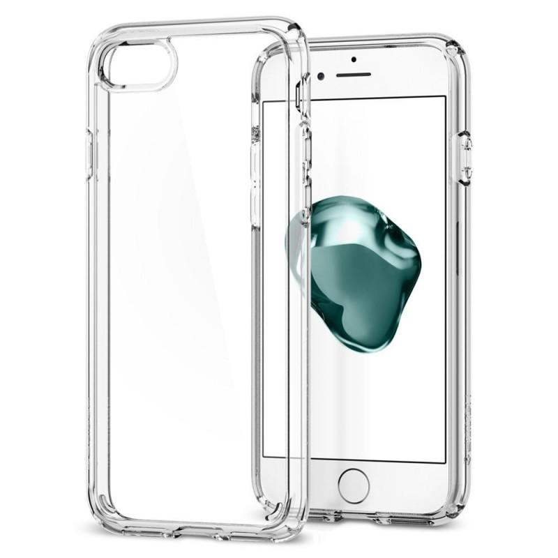 Spigen Ultra Hybrid 2 Case iPhone 8/7 Transparant - 1