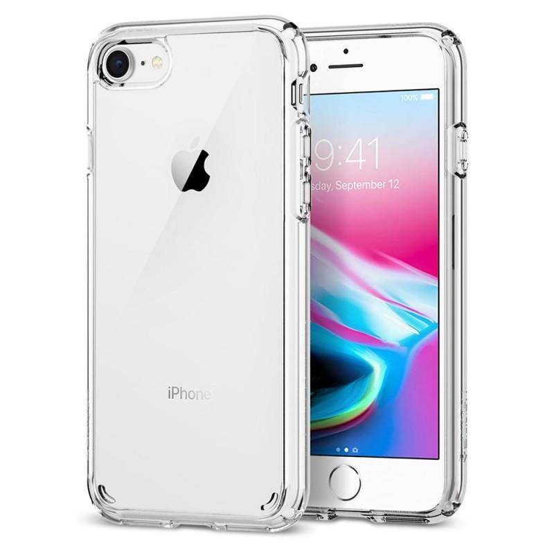 Spigen Ultra Hybrid 2 Case iPhone 8/7 Transparant - 2