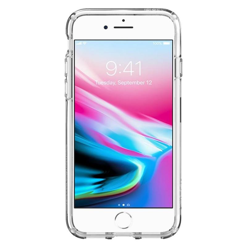Spigen Ultra Hybrid 2 Case iPhone 8/7 Transparant - 4